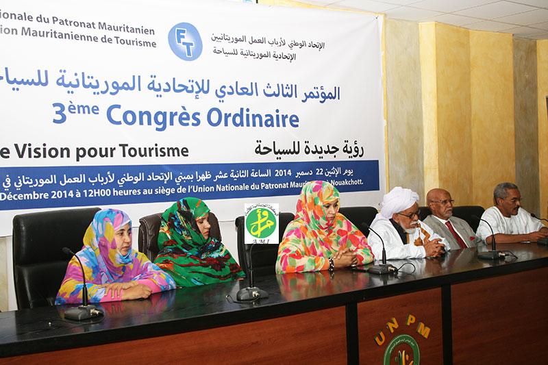 Reconduction de mohamed ould chriv ould abdallahi la - Federation nationale des offices de tourisme ...