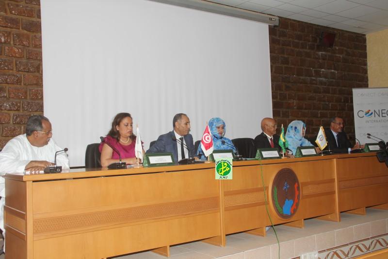 Ami la ministre du commerce supervise le lancement des for Chambre de commerce mauritanie
